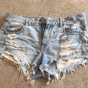 Pants - American Eagle high rise cheeky short